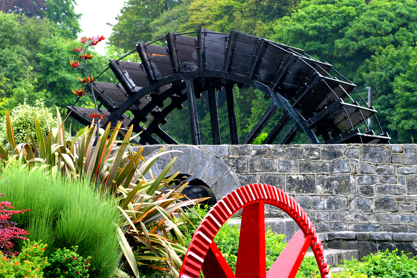 Ennis Mill Wheel by Raymond P. Doherty